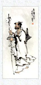 传统人物画达摩祖师