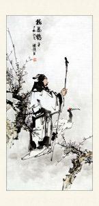 古典人物梅妻鹤子